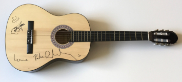 Pete Doherty Signed Acoustic Guitar -£349