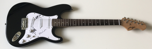 Mike And The Mechanics Signed Electric Guitar – £249