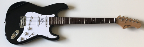 Andy Black Signed Electric Guitar – £199