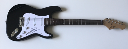 Dave Grohl Signed Electric Guitar – £399