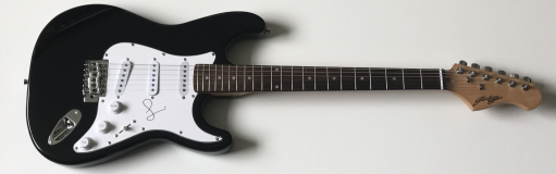 Simon Cowell Signed Electric Guitar – £199