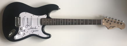 The Jacksons Signed Electric Guitar – £249